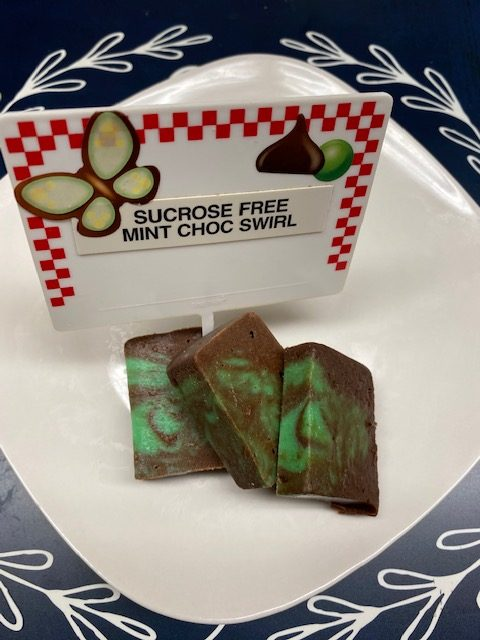 Sucrose Free Mint Chocolate Swirl