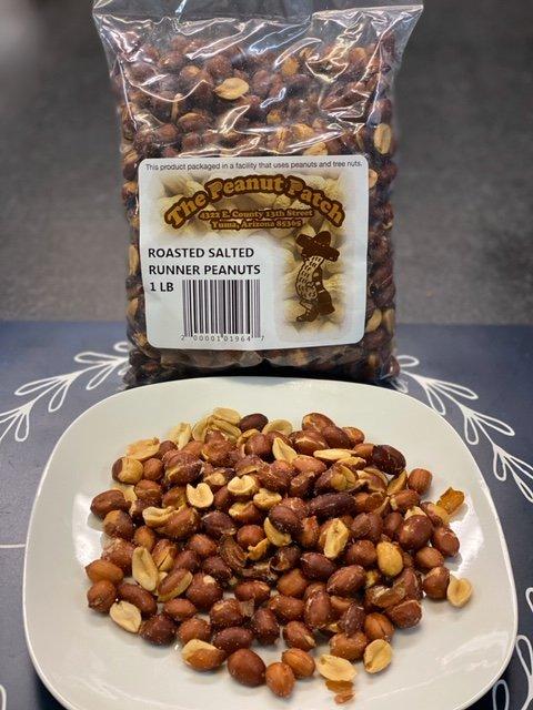 Roasted Salted Runner Peanuts