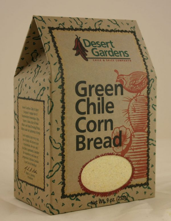Green Chili Corn Bread
