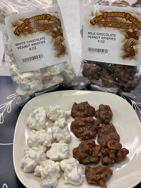 chocolate peanut krispies